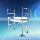 Aluminum working platform, Aluminium Mobile Scaffold Tower Work Platform