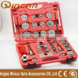 35Pc Brake Piston Rewind Tool Kit Brake Caliper Wind Back Body Auto Tool Kits with grease
