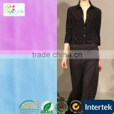 2014 hot tr suiting fabric, 90%/10% polyester viscose polyester chiffon fabric