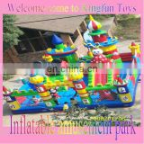 Customized inflatable fun city/giant inflatable toys