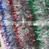 holiday supplies Secondary color artificial hanging tinsel for Party Decoration