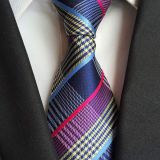 High Stitches Silky Finish Silk Woven Neckties Skinny OEM ODM