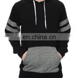 Mens inner winter jumpers Black and Grey color Joint jumpers 100% cotton christmas jumper