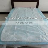 cheap Disposable PE PP SMS Surgical Drape Bed sheet factory price