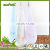 wholesale embroidered cat gauze honeycomb cotton hand towel for baby