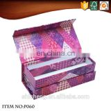 OEM art style flip top cardboard stationery box