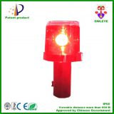 Solar flashing caution light, solar blink traffic cone warning lamp