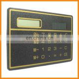 Solar Power 3mm Slim Full Function Emergency Calculator