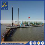 High quality low price all-hydraulic 14 Inch river sand Cutter Suction Dredger