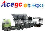 Mobile crushing station,portable crushing plant,movable crushing and washing machine