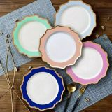 Beautiful And Good Quality Restaurant And Hotel Ceramic Plates