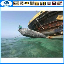 Safe mobile ship launching and landing custom multi - layer rubber air bags