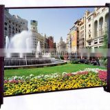 high quality and small volume 20 inch 4:3 matte white business table projection screen for flow of business