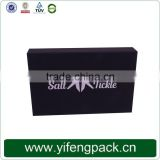 Cheap custom matt black paper packaging corrugated box for mailing, corrugated paper box wholesale