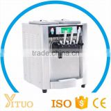 CE Hot Sale 3 Flavors Soft Serve Ice Cream Machine ,Commercial Ice Cream Making Machine For Sale