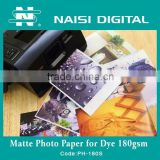 digital inkjet matte album photo paper printing 180gsm