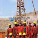 Hydraulic,700-1000m depth,can drill hard rock!!! HF-4T tower mounted full set core drilling rig