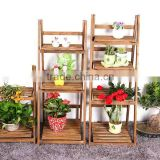 2016 New cheap flower boxes wood planter box folwer display shelf