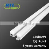CE RoHS certified 150lm/W led linear light lightbox light wall washer led tube light with 5 years warranty