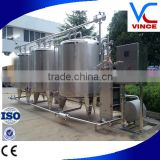 1000L Semi-Automatic CIP Cleaning Plant For Beverage Processing Line