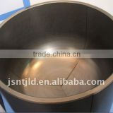 High Pure Graphite Crucible High Strength .refractory. Isostatic