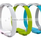 Fashionable and Creative Wristband Micro usb Data transfer & Charging cable for Android