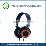 BCK0923 custom high quality shell or cover of wood headphone, circumaural headphones, DEOS                                                                         Quality Choice