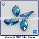 Best Sale Synthetic Marquise Blue Topaz CZ Beads Sale In Alibaba