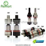 Electronic cigarette rebulidable atomizer Asmart the russian 91% v2 glass smoking hookahs