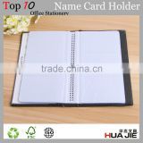Big capacity 300 clear pocket pvc plastic name card case business card holder