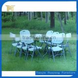 Restaurant plastic folding chairs with steel legs,folding chair for wedding for sale HY-Y28