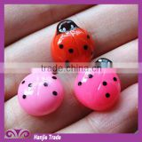 Wholesale newest design Kawaii resin art insect cabochon for children's crafts