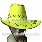 Hot sale funny cowboy hat for adults carnvial party decoration HT2099
