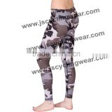 custom wholesale polyester spandex leggings camouflage fabric