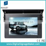 "roof mount 19"" bus lcd advertising poster"