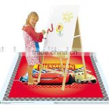 Eco-friendly baby disposable placemat floor topper printing