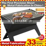 X type Foldable Outdoor Mini Korean Charcoal BBQ Grill With Heavy Duty