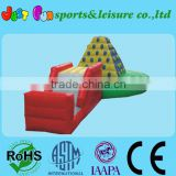 High Quality Colorful Inflatable Climbing Wall Sports Game,Inflatable climbing mountain for Adult and Kids