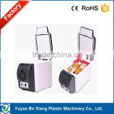 DC12V 6L Semiconductor car refrigerator with four hole square top 12v car portable cooler and warm box/icebox/freezer