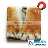 animal protection tiger paws Magnetic Epoxy Gift promotional item personalized fridge magnet