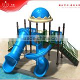 outdoor plastic pool slide structure playground play                                                                         Quality Choice