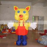 inflated pig balloon, pIg shape PVC giant balloon, Cartoon character PVC balloon from factory