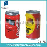 7 inch Cola/Beer/Pop Can LCD vending machine for POP promotion, lcd digital signage advertising player for promotion sales