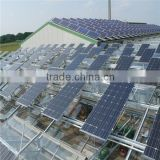 solar panels highest efficiency for flat roof made in China solar mounting brackets structure product