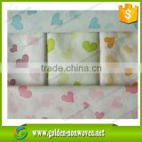 alibaba golden factory cheap price custom printed nonwoven fabric, printed spunbond nonwoven fabric in rolls for face mask