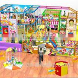 Indoor playground Cheer Amusement Candy Themed indoor playground set