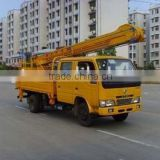working platform overhead working truck SHACMAN ,HOWO, DFL INSULATED BUCKET MOUNTED TELESCOPIC BOOM LIFT TRUCK manufacturer