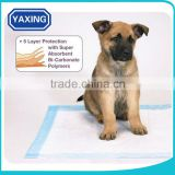 pet cool pad dog traning pads 5 layer production super absorbent