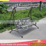 3 Three Seats Modern Garden Ceiling Metal Swing Back Relax Garden Chair And Bed