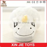 nice design plush unicorn slippers ISO9001 plush slippers manufacturer new design girls plush animal slippers                                                                         Quality Choice